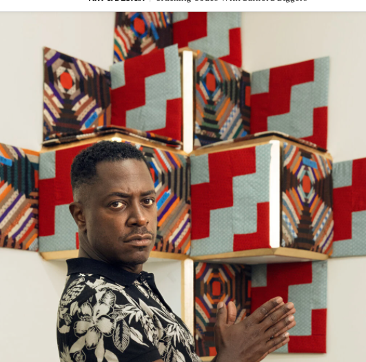 New York Times 'Cracking Codes with Sanford Biggers'